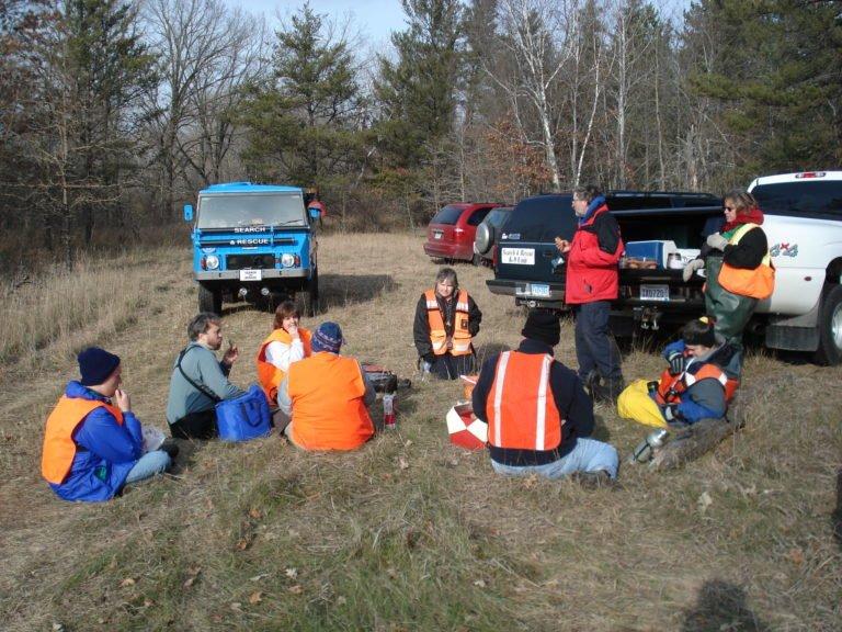 SRRMN takes a break in the field