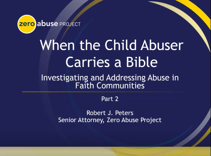Child Abuser Carries Bible Part 2 image