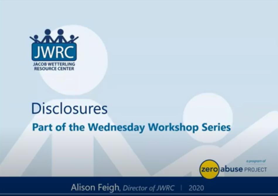 Disclosure Alison IMAGE